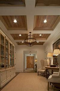 Coffered ceiling wood and ceilings