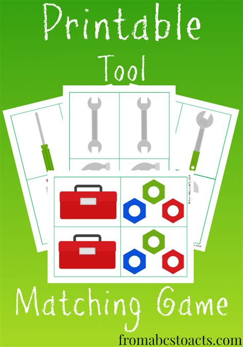 memory for tool matching free printable of 681 | b4091ba37d283ec12f4f8698b7aa0d5a