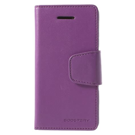 iphone 5c wallet apple iphone 5c purple goospery sonata wallet