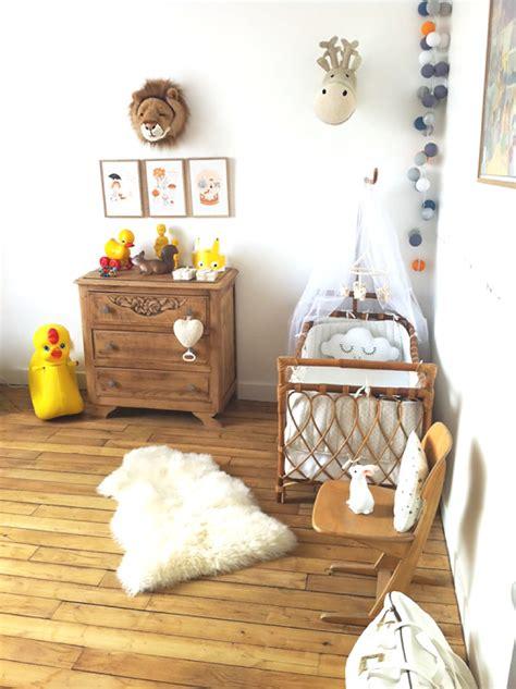 chambre pour petit gar n inspirations idées déco pour une chambre bébé nature et