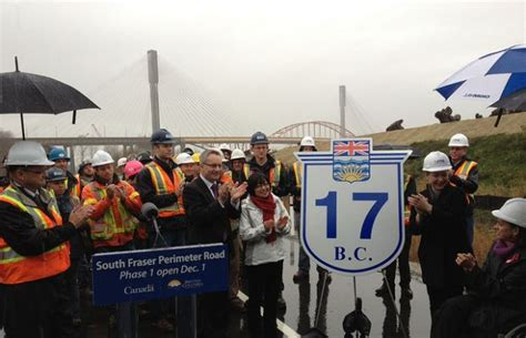 Bc's Newest Highway South Fraser Perimeter Road