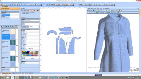 optitex virtual product  fashion design software
