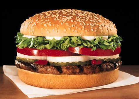 cuisine burger the whopper top bun america 39 s favorite burgers