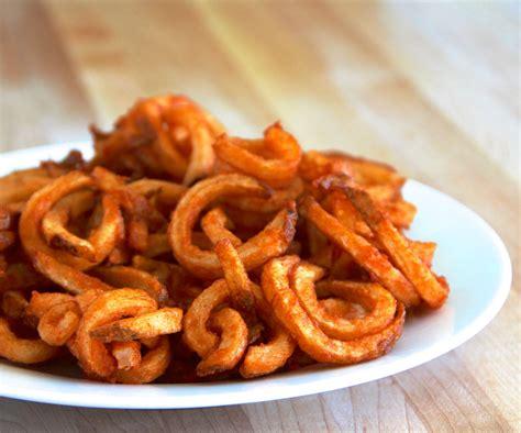 fries recipe curly fries recipe making jiggy