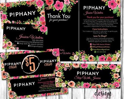 piphany small business marketing kit   care card