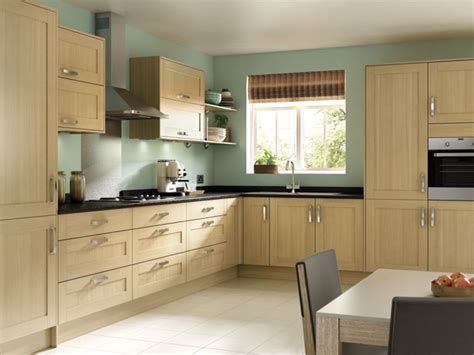 tulsa oak effect shaker kitchen wickescouk