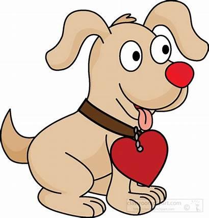 Collar Heart Puppy Clipart Dog Animals Classroom