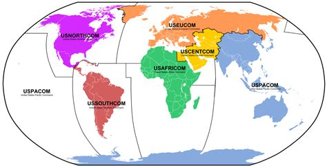 Fileunified Combatant Commands Mappng  Wikimedia Commons