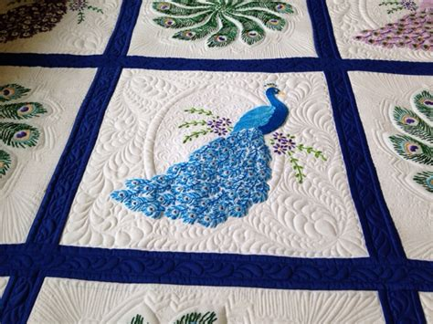 peacock quilt pattern quilting together peacock quilt