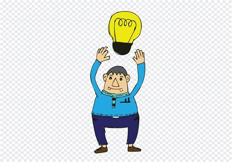 Cartoon man thinking style illustration 643588 - Download ...