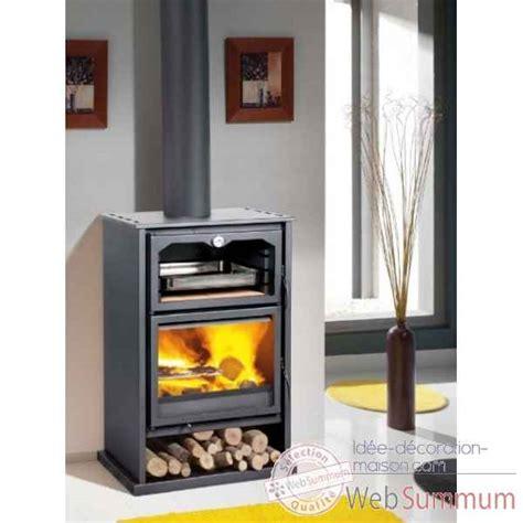 poele a bois pour cuisiner poêle bois dans cheminée foyer babecue sur idée décoration maison