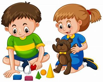 Playing Toys Clipart Play Boy Jouets Speelgoed