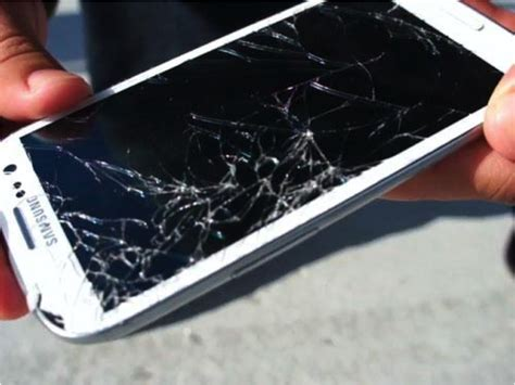fix a phone a device with a broken screen from the comfort of