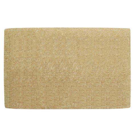 Coir Doormat by Nedia Home No Border Plain 30 In X 48 In Coir Door Mat