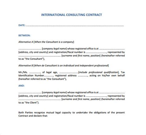 microsoft contract templates   erogongogreen
