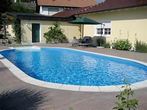 Oval Pool Stahlwand. einbaupool oval fabulous einbaupool oval with ...