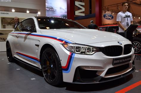 bmw m4 performance bmw f82 m4 with m performance accessories at 2014 essen motor show