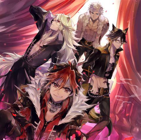 shingan crimsonz show  rock zerochan anime image board