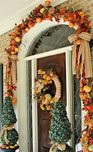 Easy, Thanksgiving, Front, Door, Decorations, Ideas
