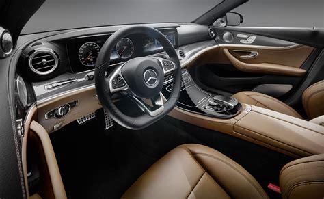 mercedes benz  class interior revealed  glass