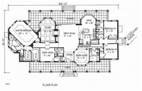 inspirational spanish hacienda floor plans plan spanish colonial  haciendas historic spanish