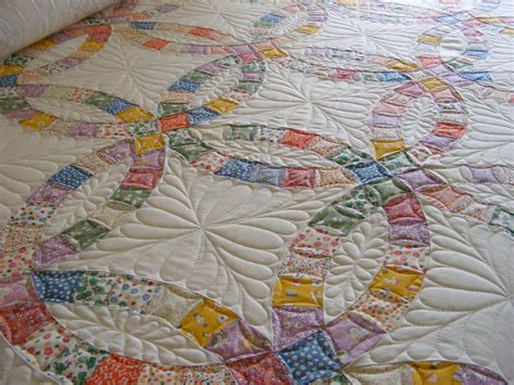melon patch quilts wedding ring quilt