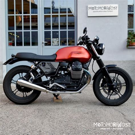Modification Moto Guzzi V7 Ii by Guzzi V7 Ii Caf 232 Racer Customs By Motomorphosys V7 Wish