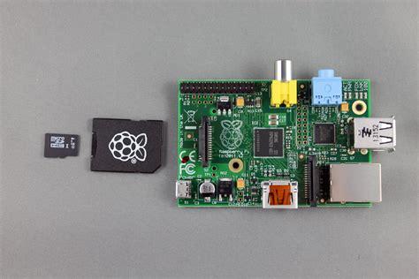 raspberry pi model   noobs gb sd card marginally