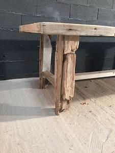 Planche De Bois Flotté : table en planche de bois flott ~ Melissatoandfro.com Idées de Décoration