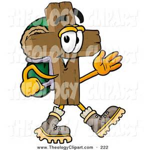 Cartoon Hiking Clip Art