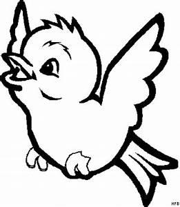 Suesser Kleiner Vogel Ausmalbild Malvorlage Comics