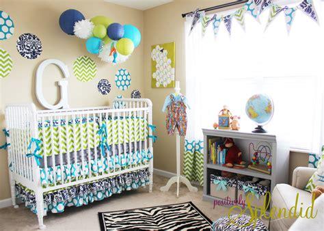 Baby Boy Nursery Tour  Positively Splendid {crafts