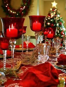 Table De Noel Traditionnelle : 40 christmas table decoration ideas ~ Melissatoandfro.com Idées de Décoration