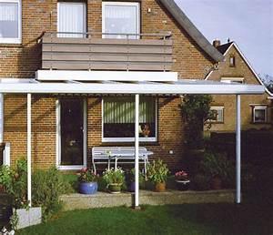 alu terrassendach bausatz glas uberdachung selber bauen With französischer balkon mit überdachung garten selber bauen
