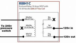 Chemical Pump Relay Switch