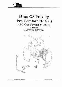 Privileg Pro Comfort 916s Aeg Favorit 54700 Zanussi 45