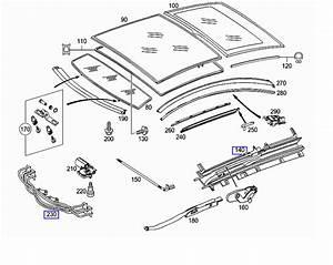 Mercedes Benz 1998 C230 Parts Diagram