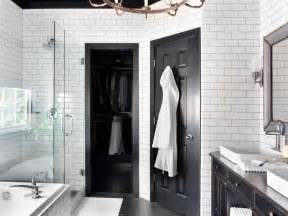 black and white bathroom ideas pictures timeless black and white master bathroom makeover bathroom ideas designs hgtv