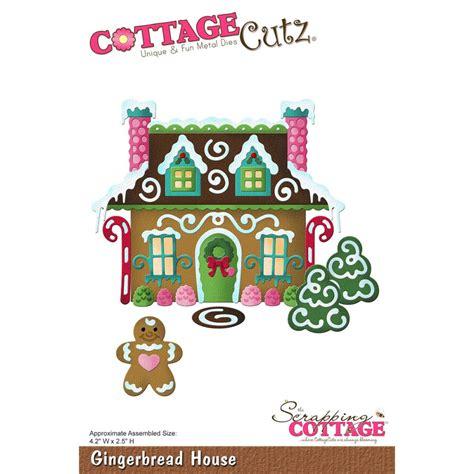 cottage cutz dies cottage cutz die gingerbread house