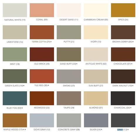 concrete floor paint color chart floor matttroy