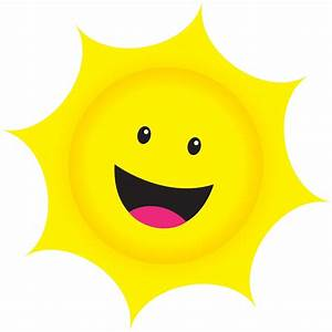 Sunshine clipart sun smiling