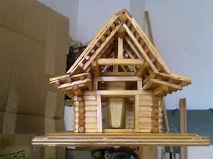Holzspielzeug Baupläne Kostenlos : block vogelh uschen mit futtersilo bauanleitung zum selber ~ Watch28wear.com Haus und Dekorationen