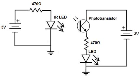 How Build Infrared Detector Circuit
