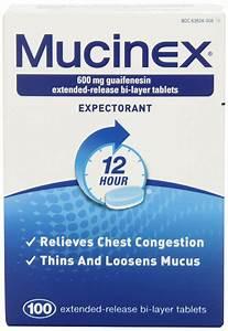 Mucinex Full Review  U2013 Does It Work   U2013 Immune Supplement