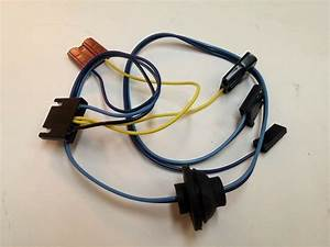 1965 Chevelle El Camino Windshield Wiper Switch Motor Wiring Harness Malibu 2spd