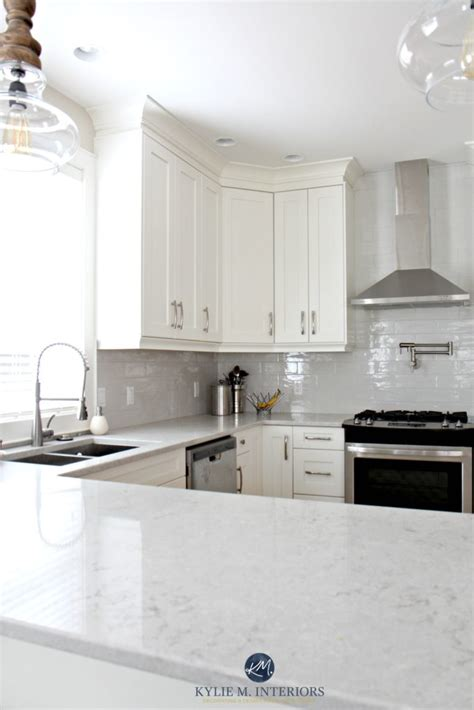 white tile kitchen countertops white kitchen cabinets 3 palettes to create a balanced 1474