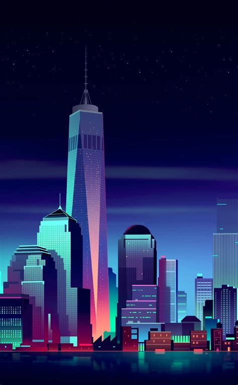 nyc minimalist full hd  wallpaper