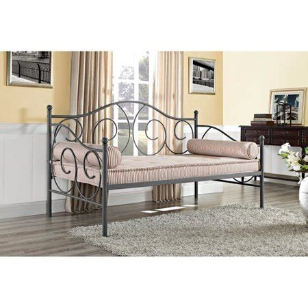 dhp victoria metal frame daybed twin size multiple