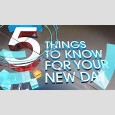 5 Things To Know For Your New Day  Wednesday, October 2  New Day  Cnncom Blogs