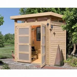 Toit En Bois : abri de jardin toit plat 3m en bois massif 1 achat ~ Melissatoandfro.com Idées de Décoration
